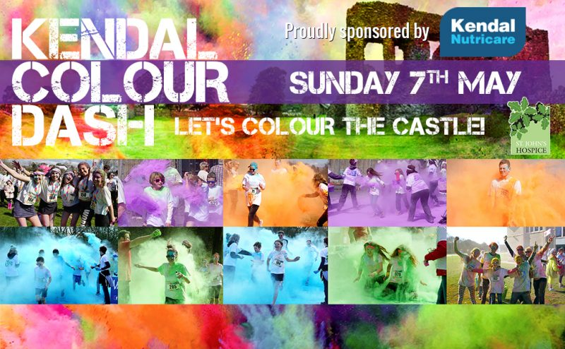 Kendal Colour Dash 2017