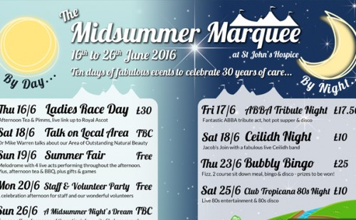Midsummer Marquee Preview