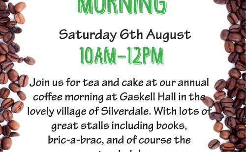 Silverdale Coffee Morning finished
