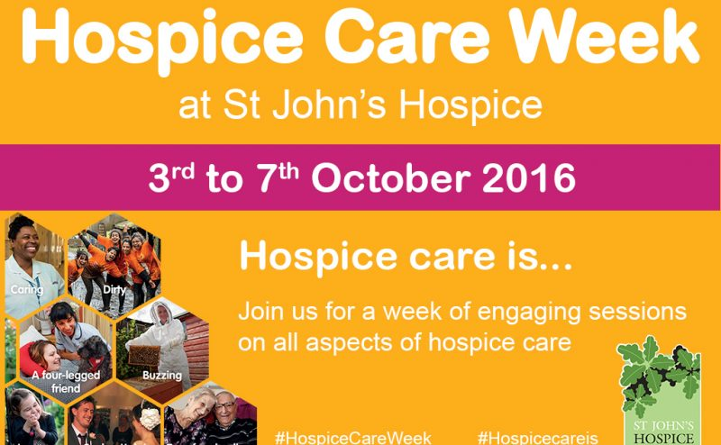 Hospice Care Week - 3rd to 7th October