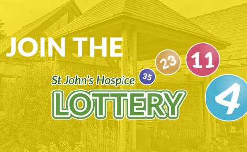 Join the St John's Hospice Lottery