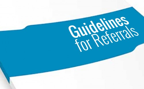 Guidelines for Referrals