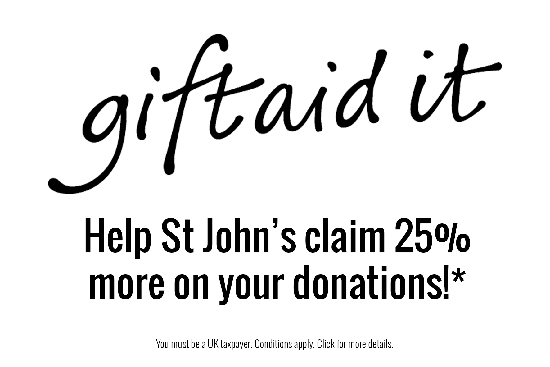 Gift aid for st johns hospice st johns negle Images
