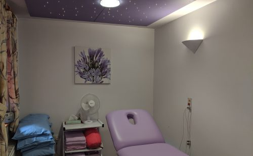Complementary Therapy Room at St John's Hospice Oak Centre