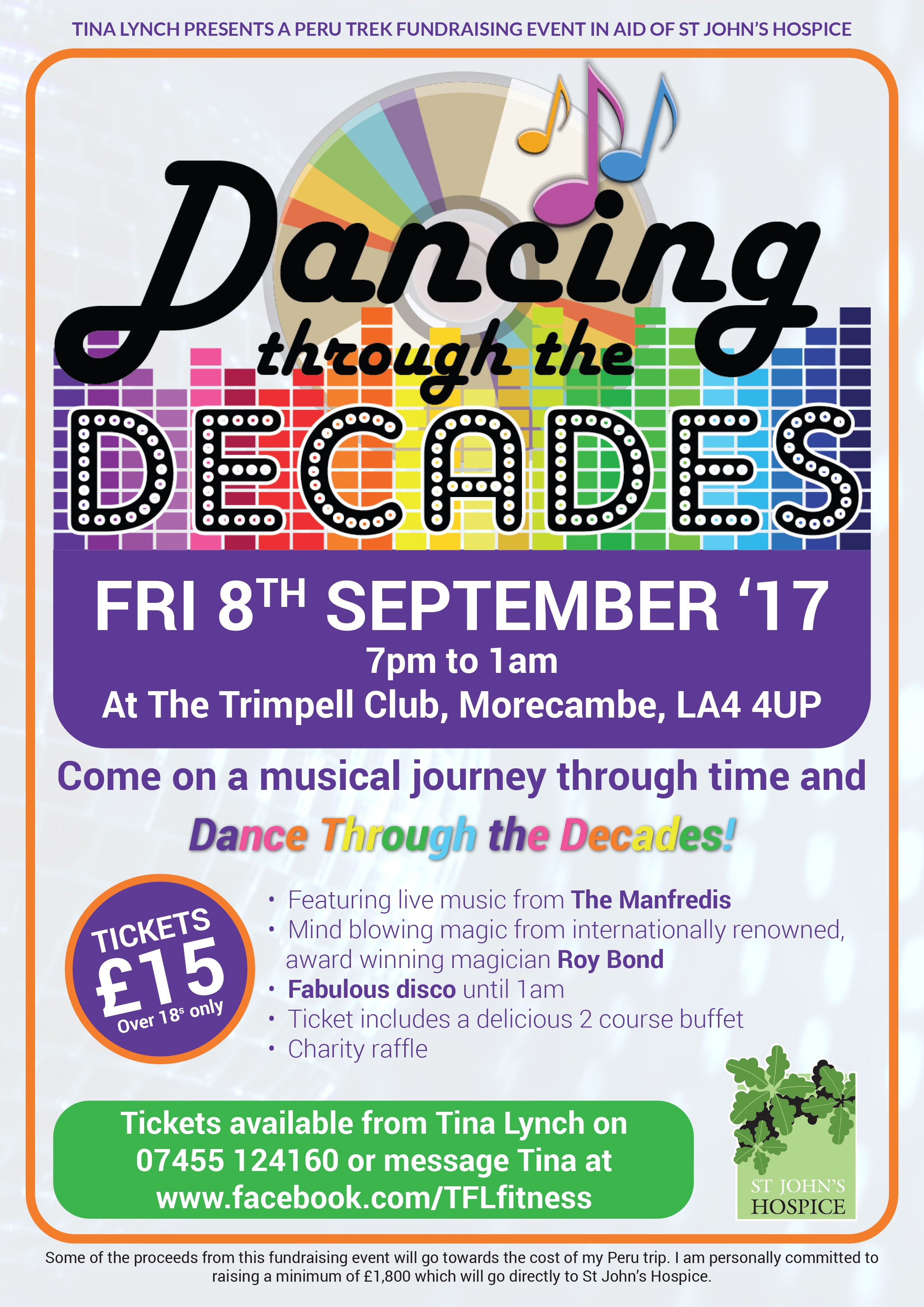 music through decades From the fabulous 50s through the rockin' 60s and all the greatest tunes until  today, simon leads us through a musical travelogue with some surprises along  the.