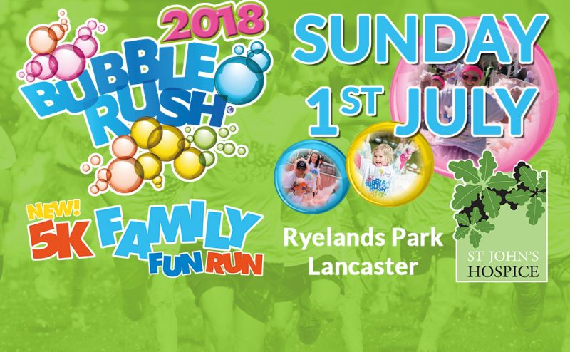 Lancaster Bubble Rush!