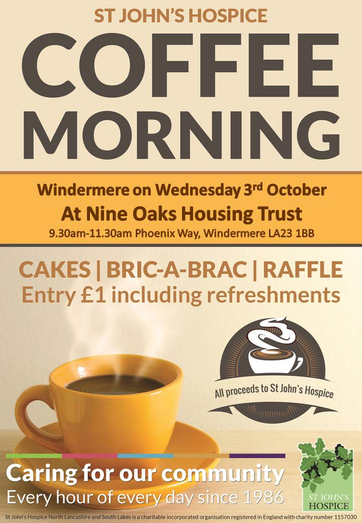 Windermere Coffee Morning St Johns
