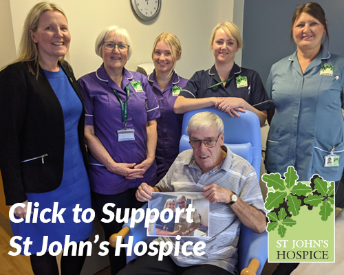 Click to Support St John's Hospice