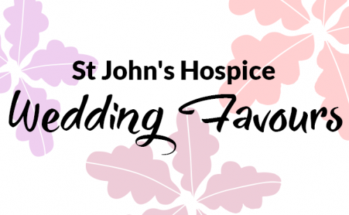 St John's Hospice Wedding Favours