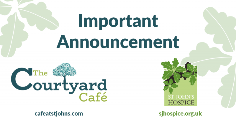 Cafe - Important Announcement