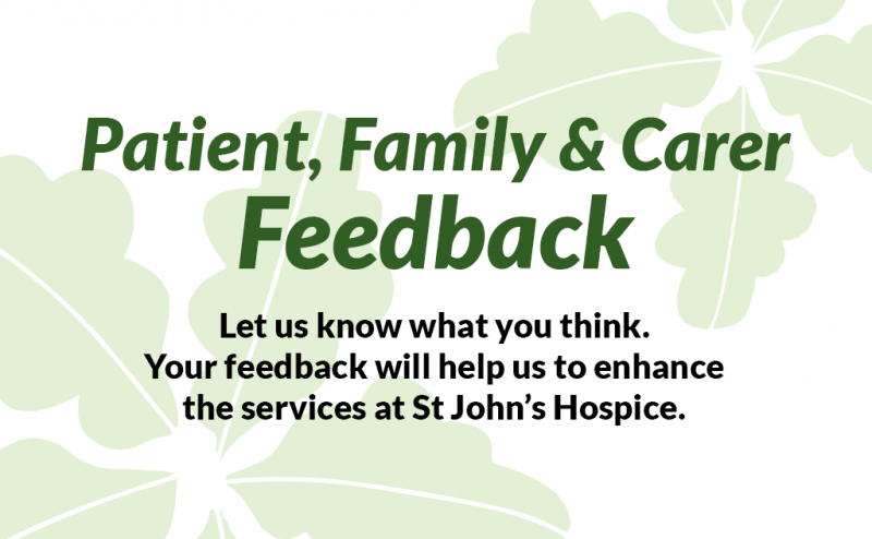 Patient, Family & Carer Feedback