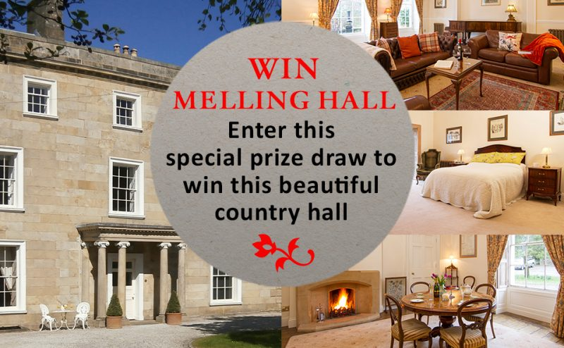 Win a Country Hall - Enter NOW!